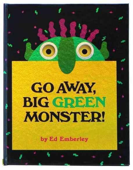 Go away, big green monster! 표지