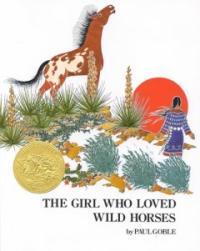 (The) girl who loved wild horses  : [영어도서] 표지