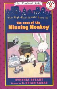 (The) case of the missing monkey 표지