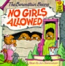 (The Berenstain Bears)No Girls Allowed 표지