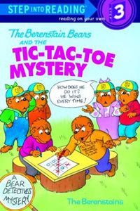 The Berenstain Bears and the Tic-Tac-Toe Mystery[CD없음] = 스텝 인투 리딩   표지