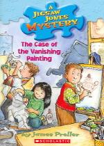 Jigsaw Jones Mystery 25 (Case of the Vanishing Painting)