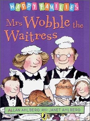 (Happy families 19) Mrs Wobble the waitress  표지