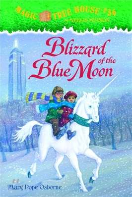 (Magic Tree House #36) Blizzard of the Blue Moon (Magic Tree House #36)+CD포함