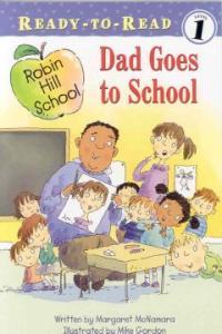 Dad goes to school 표지