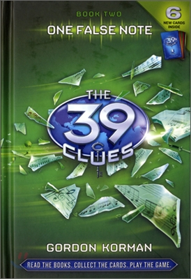 The 39 CLUES #2:One False Note   표지