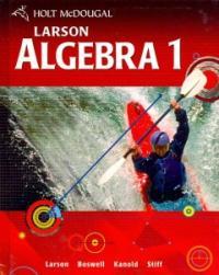 Algebra 1, Grades 9-12 (Holt Mcdougal Larson Algebra 1)