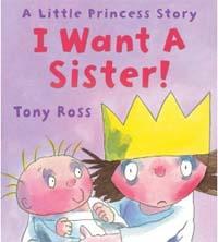 I want a sister!. [8] 표지