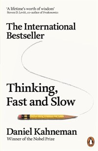 Thinking, Fast and Slow 표지