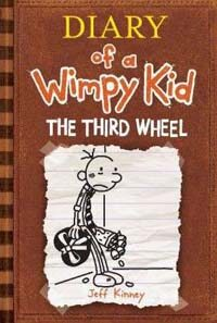 Diary of a wimpy kid. 7, The third wheel 표지