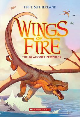 Wings of Fire. 1, The Dragonet Prophecy 표지