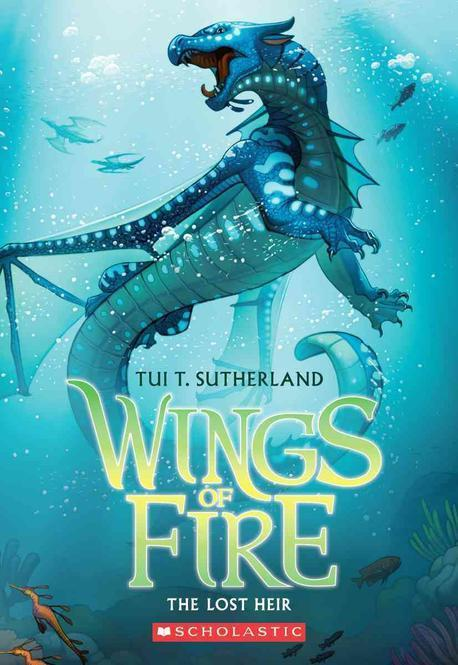 Wings of Fire. 2, The lost heir 표지
