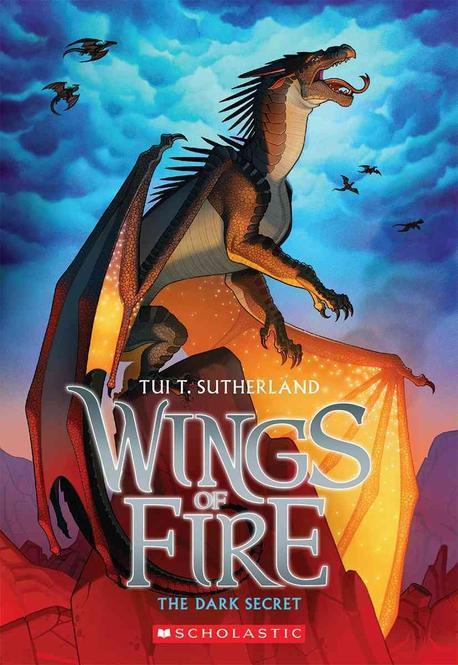 Wings of Fire. 4, The dark secret 표지