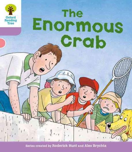(The)enormous crab 표지