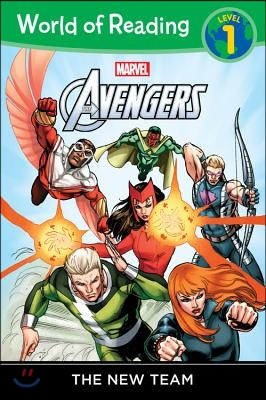 The New Team : World of Reading Avengers Level 1 표지