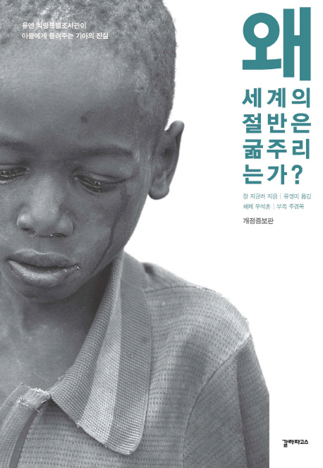 왜 세계의 절반은 굶주리는가? : 유엔 식량특별조사관이 아들에게 들려주는 기아의 진실