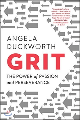 Grit : The Power of Passion and Perseverance 표지