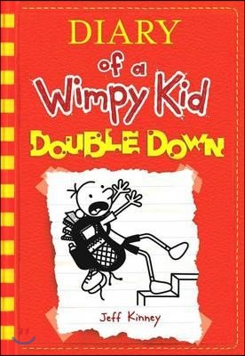 Diary of a wimpy kid  : double down 표지