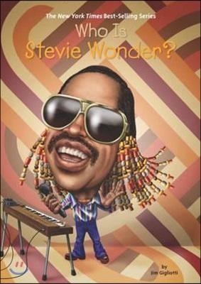 Who is Stevie Wonder? 표지