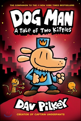 Dog man : a tale of two kitties   표지
