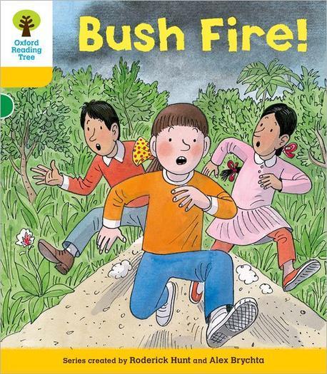 Bush fire! 표지