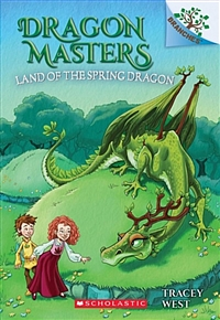 Dragon masters. 14, Land of the spring dragon 표지