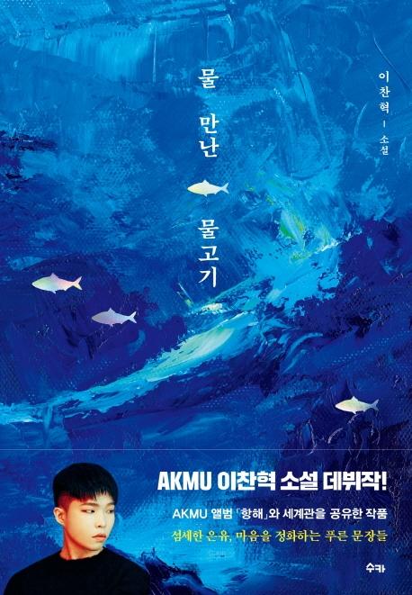 물 만난 물고기 : 이찬혁 소설 표지