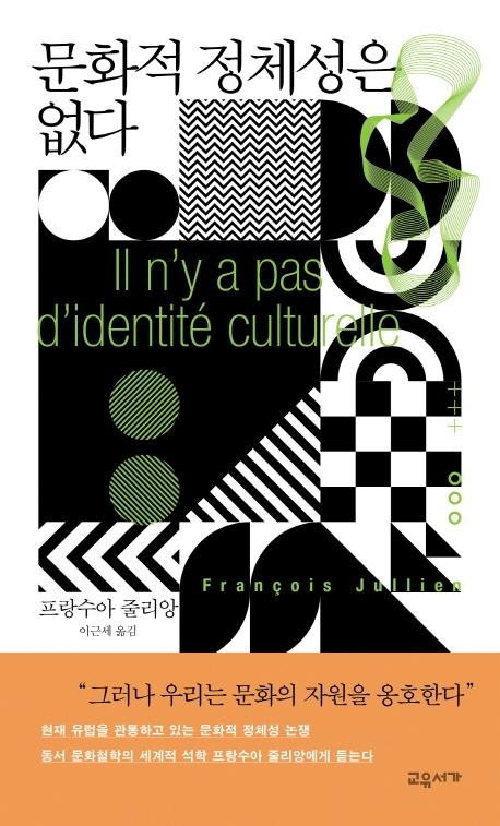 문화적 정체성은 없다 표지
