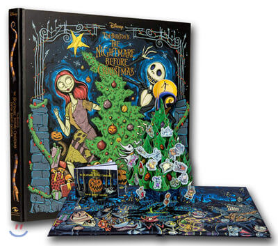 (The)Nightmare before christmas - pop-up book and advent calendar 표지