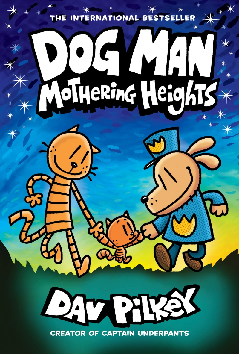 Dog man. 10, Mothering heights 표지