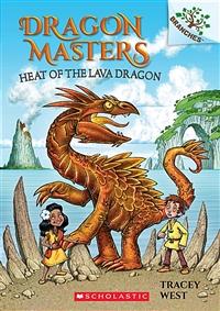 Dragon masters. 18, Heat of the lava dragon 표지